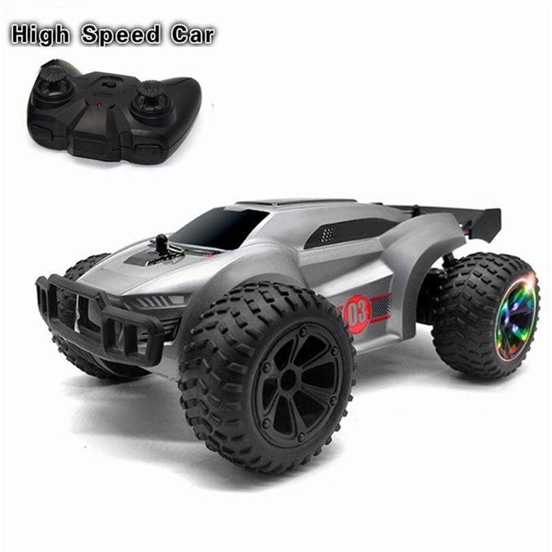 1:22 4WD RC CAR Aktualisierte Version 2.4g Radio Control Light RC Auto Buggy High Speed Trucks Off-Road Trucks Toys für Kinder 201223
