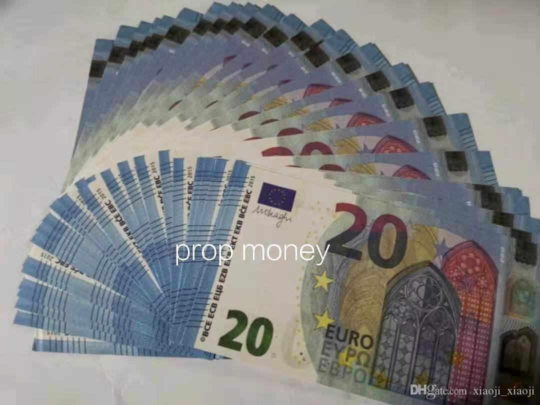 Euro Realistische Requisite Movie meiste Dollar spezielle Spiel Kinder 20 Spielzeug Erwachsene Spiel Requisiten Pfund Requisiten Bar Bühne Euro Geld Geld-048 Ufwil