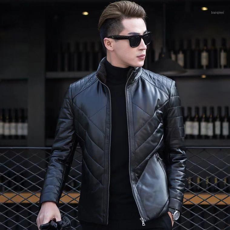Мужские куртки K11758 Мода мужские пальто 2021 Взлетно-посадочная полоса Европейский дизайн стиль вечеринки одежда1