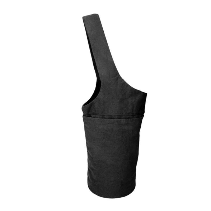 Grande borsa da yoga borsa da sacchetto e calzini Bundle 4 tasche Borsa da tappetino da yoga portatile lavabile solido