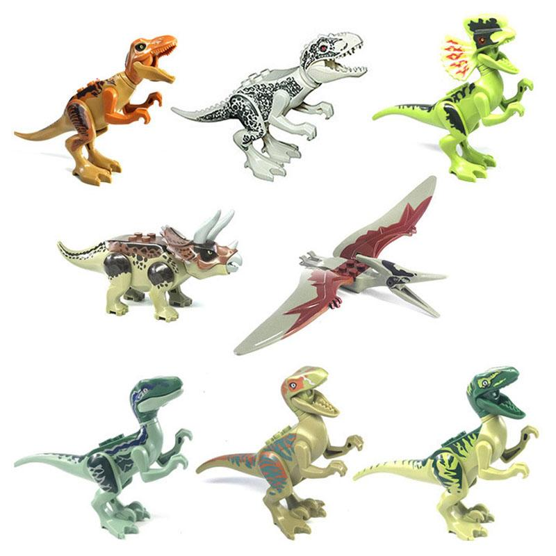 Dinosaurs toy wholesale Brutal Raptor Army Compatible Building Blocks Mini Bricks Dinosaurs Toys For Children Boys