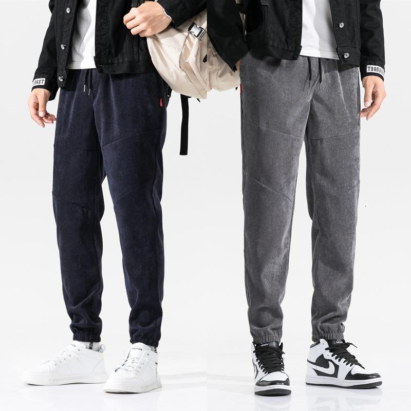 Leggings casuales para hombres, pantalones de otoño y pantalones de invierno de panadería deportiva, pantalones de harén