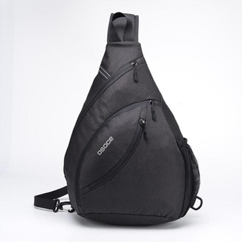 Hombres bolsa bolsa hombro captura capacidad mensajero grande triángulo viaje masculino cruz cuerpo al aire libre impermeable buoles