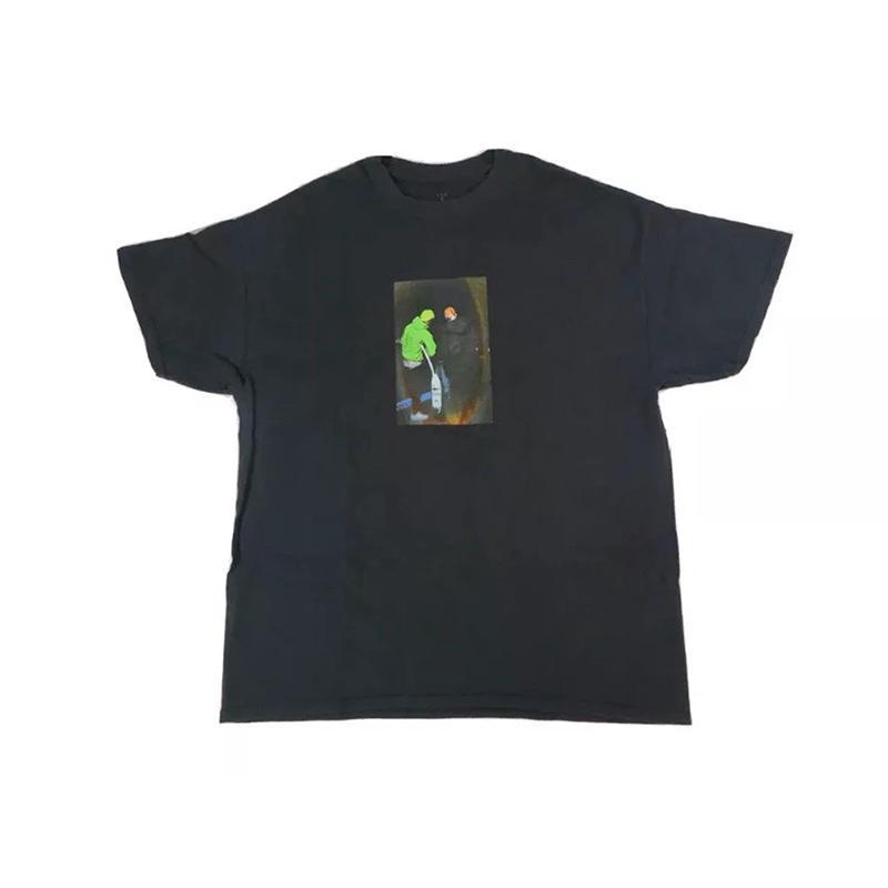 Travis ScoCactus Jack Boys Women and Men Sumemr T shirts Streetwear Oversized Tee Cotton Top Tees