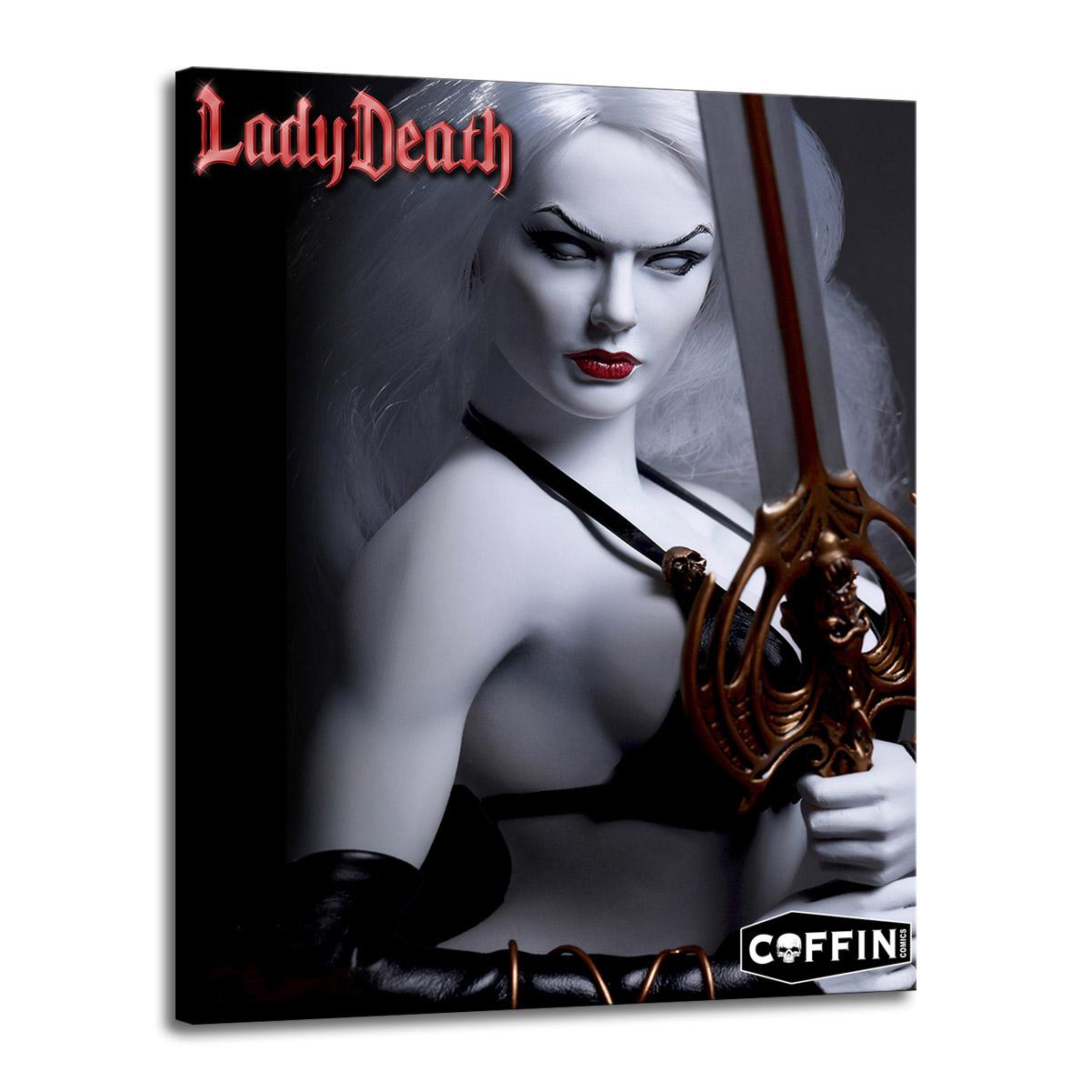 Art Lady Death Oil Painting Print On Canvas Modern Wall Art Modular Wall Pictures For Living Room Deco 2500