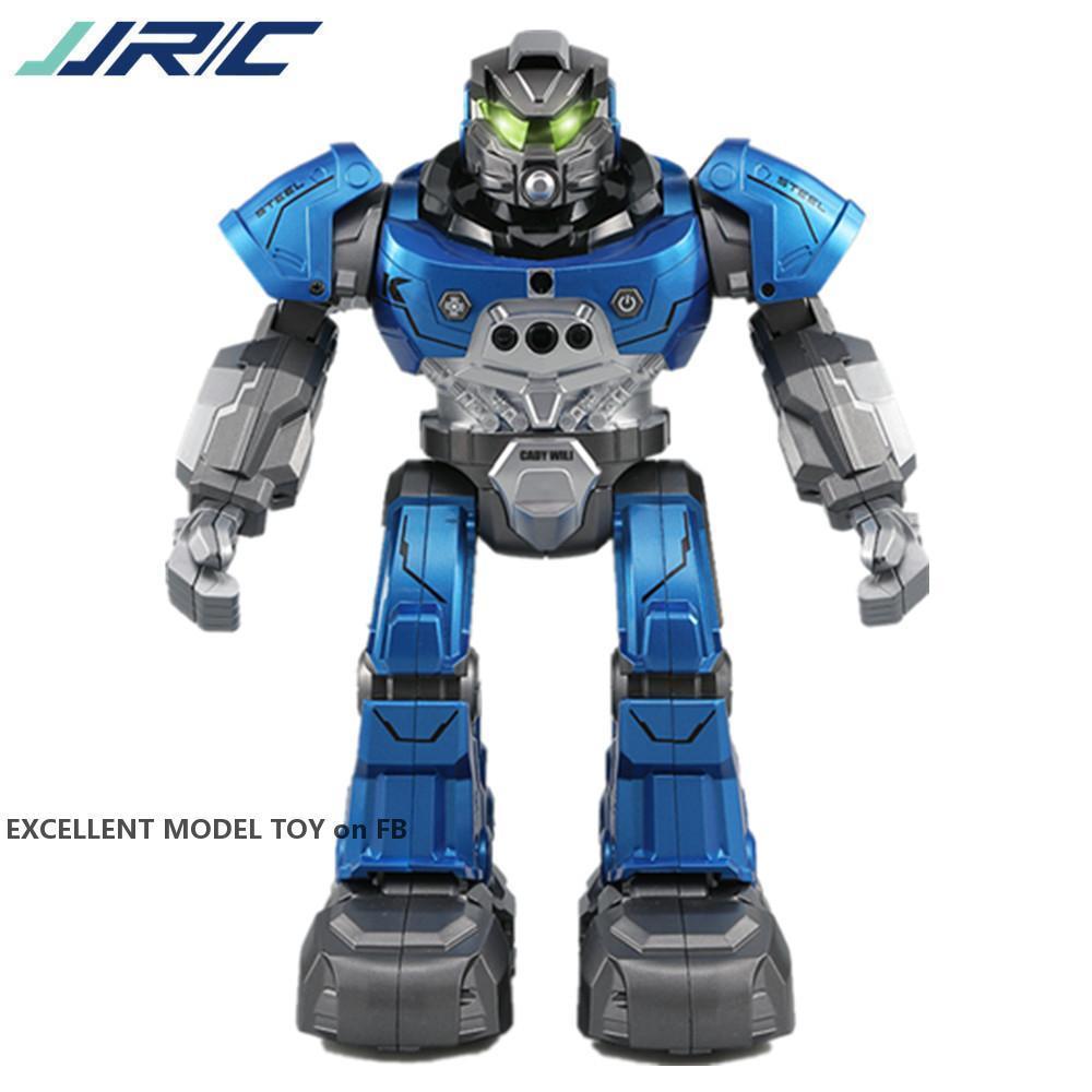 JJRC R5 Uhr Fernbedienung Begleiten Roboter, Intelligente Touch Geste Sensing, Singen und Tanzen, Weihnachtskind 'Geburtstagsgeschenk