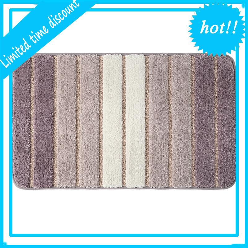 Large Non Slip Carpet Shower Mat For Bathroom Kitchen Bedroom Rug Floor Entrance Door Mats Bath Carpets 40x60cm