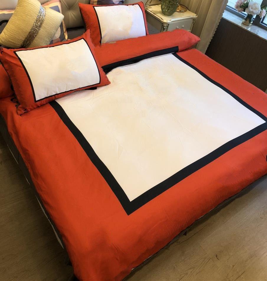 Baumwolle gewebt Bettwäsche Sets Queen Größe gedruckt Quilt COVER SALE 2 Kissenbezüge Blatt Bettbezug
