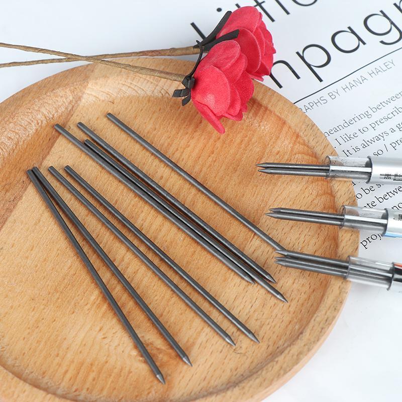 عبوات 2MM 2B عبوات / يؤدي البوصلات والأقلام الرصاص التلقائية الميكانيكية الملء رسم مكتب المدرسة القرطاسية 1