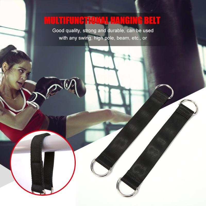 2x Gym Fitness Suspension de la courroie d'entraînement Equipement de l'entraînement Yoga Tirez les sangles de corde pour accessoires de travail efficaces