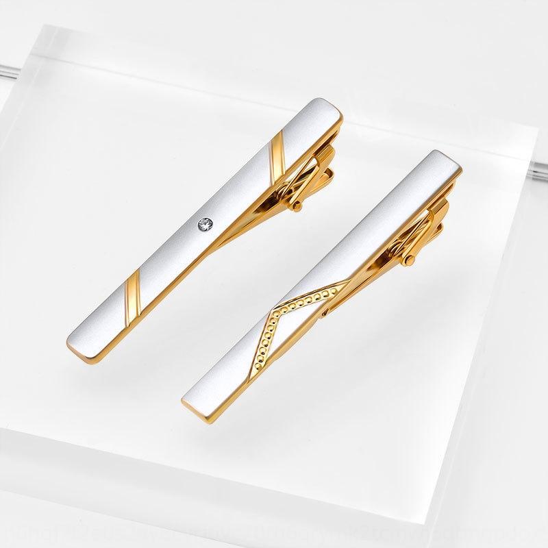 Collier Gedne Collier Formel Business Professionnel Contenu Clip Clip coréen Homme Security Pin Pin Cravate Clip