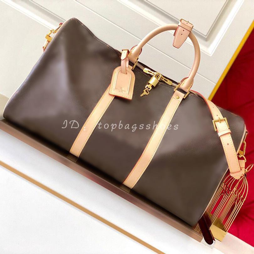 Большие дизайнеры мужские Duffel бренд 2020 люкс оригинальные 5A путешествия мода кожа 45 50 плеча см сумка большие комплексные сумки 55 Crossbody Cexd
