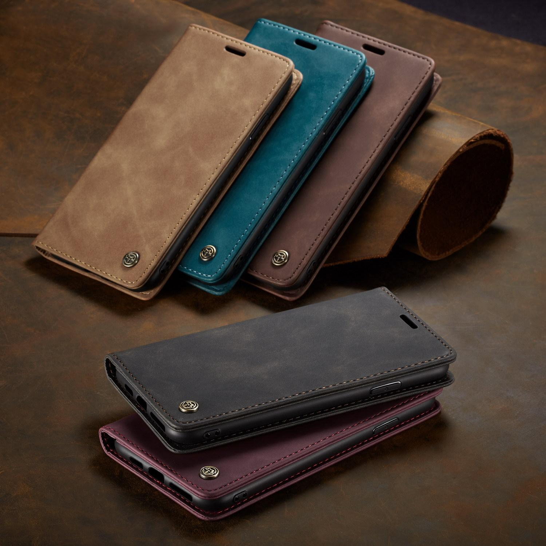 Кожаный кошелек чехол для чехла FLIP для iPhone 12 11 Mini Pro Max XS X XR 6S 7 8 плюс SE 2020 карманные слоты карманных карт