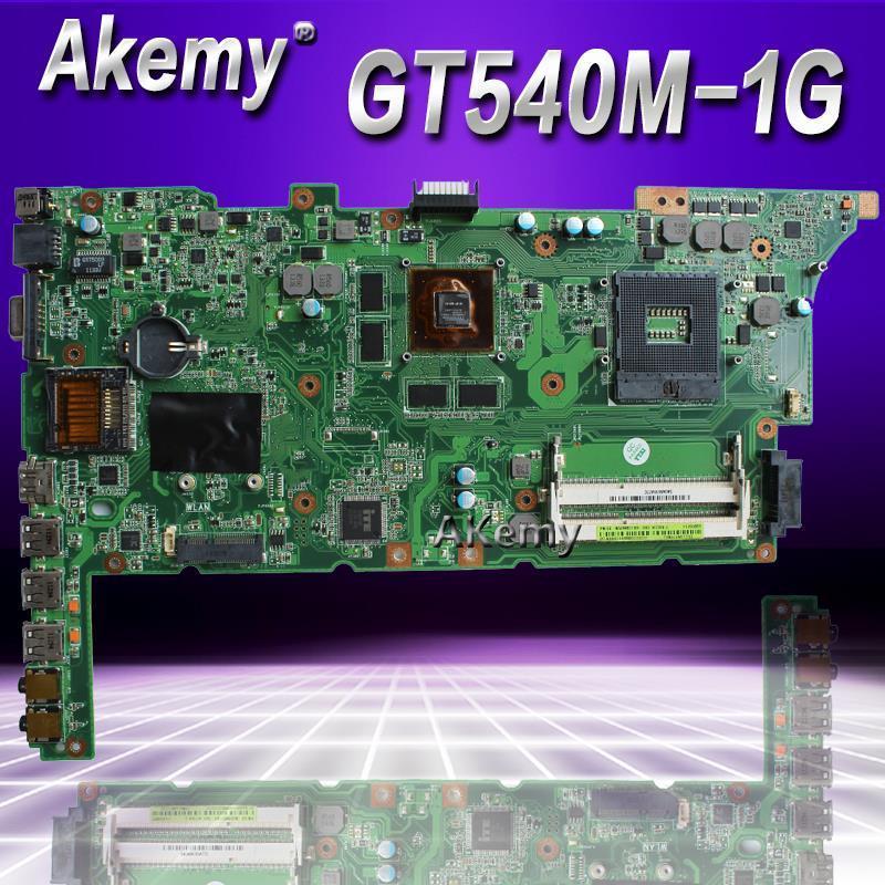 AKEMY K73SV K73SD Laptop Motherboard für Asus K73SD K73S K73SV K73SJ Test Original Mainboard HM65 GT540M 1 GB