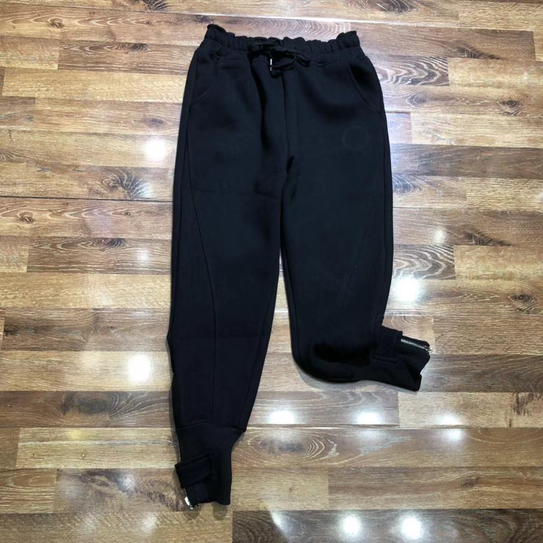 Weibliche 2021 neue Winter-Sweatpants Luxus-Designer-Frau-Kleidung Vintage-Hosen 6B8x QA3U