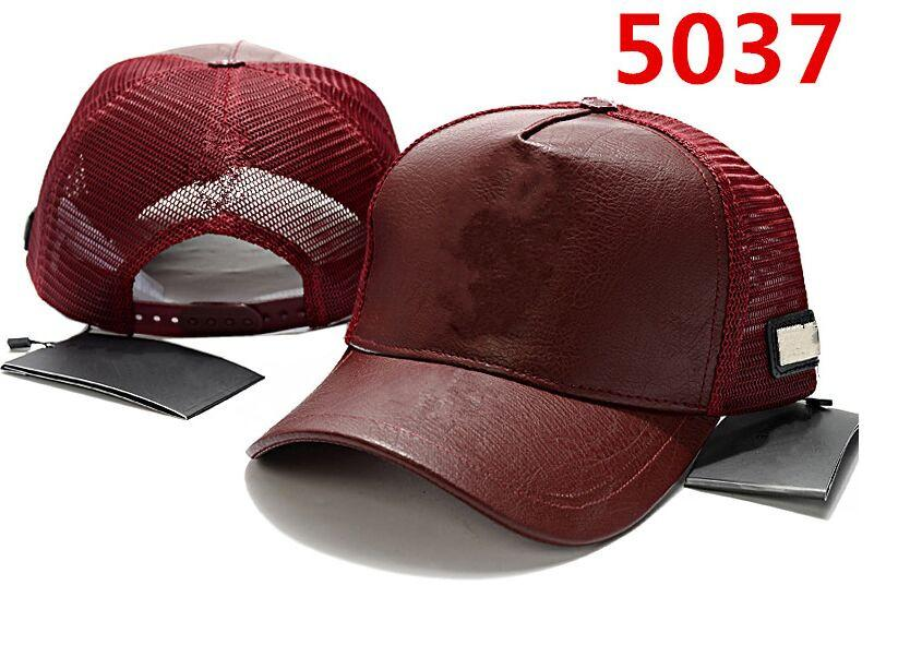 Designer Caps Red leather Casquette cap baseball caps cap men Hats gorras Snapbacks Hats summer hat outdoor golf sports hat for men women