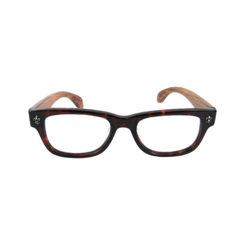 レトロなゴシックスタイルのメガネフレーム手作りの木製の光学メガネ高品質のアセテートフレーム天然ローズウッドレッグス飾りリベット