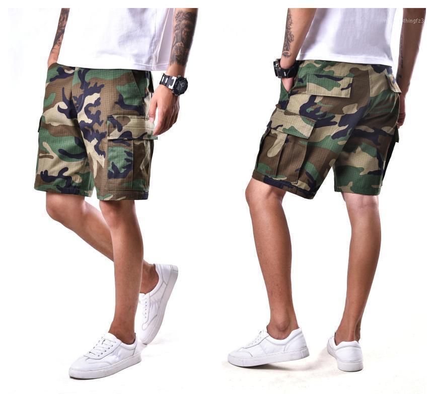 Мужские повседневные уличные шорты боевой армии Camo BDU шорты работают лагерь Owner1