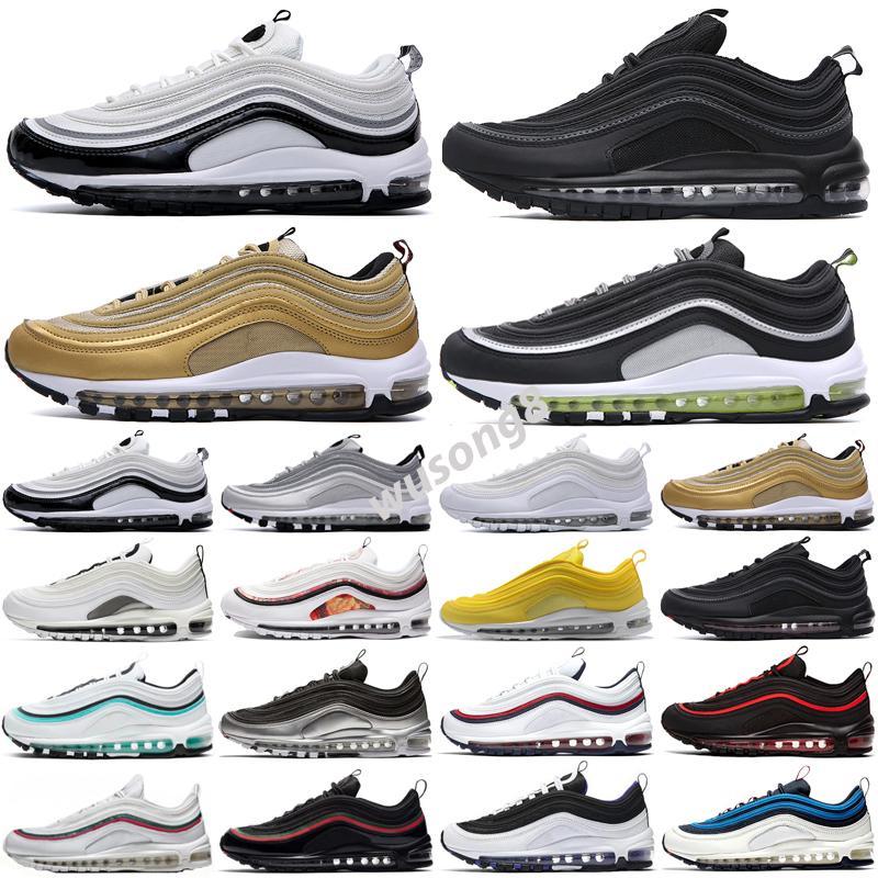 Max 97 2021 Sean Wotherspoon 97s Mujeres Zapatos deportivos Jogging Caminando Senderismo Cojín Sneakers Zapatos para hombre Chaussures al aire libre