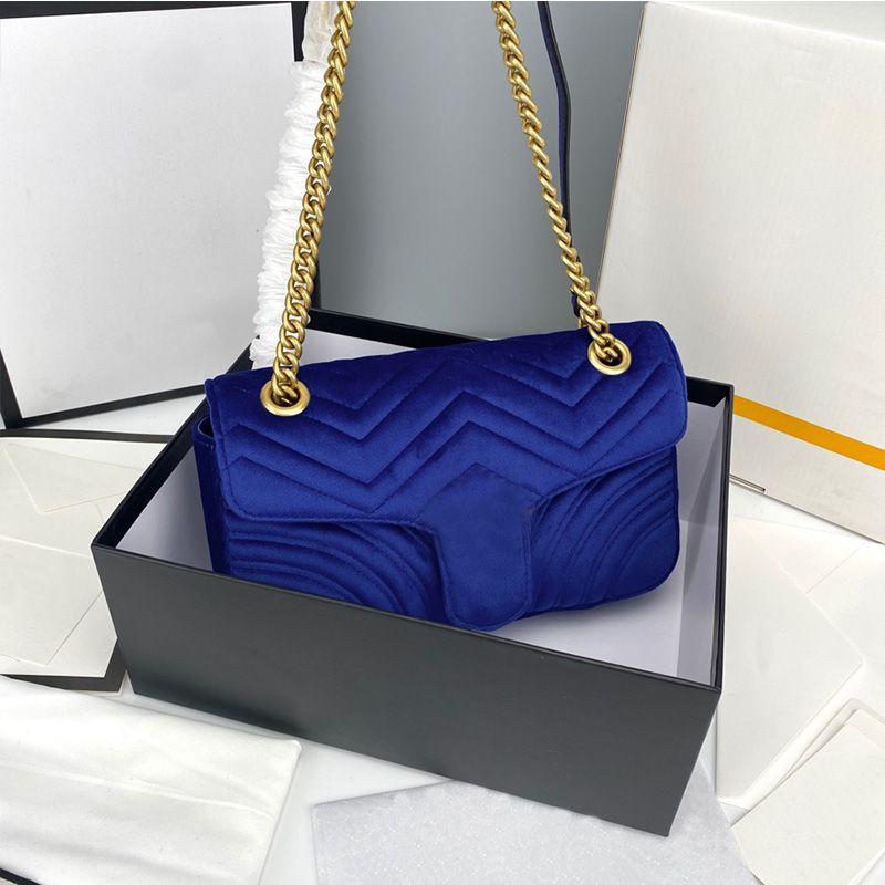Velvet coração Amor V Ondas, Satchel Bolsa de Ombro Cadeia Bolsas Crossbody Bolsa Classic Lady Hot Sale Style Ladies Tote Bag