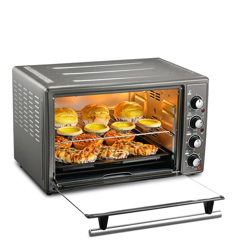 Elektrische Öfen 45L-Ofen voll ausgestattet Haushaltsbrot-Bäckerei Pizza Toaster 220V Küchengeräte