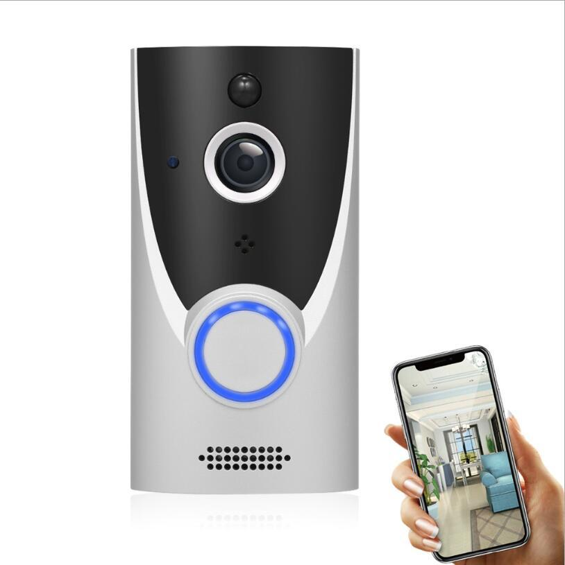 Камера HD Wireless Wifi Смарт видеодомофон дверной звонок камеры Визуальный Интерком IP Door Bell Home Security