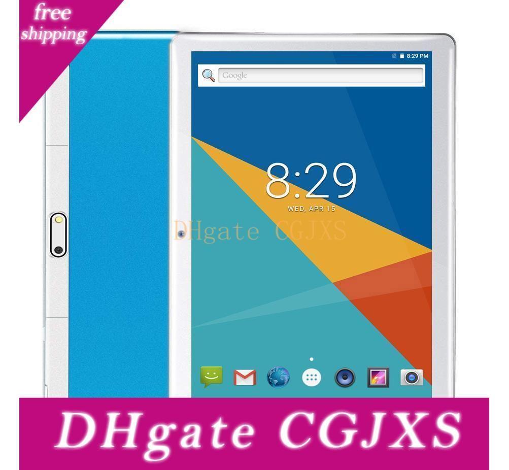2020 Android Tablet |10 Tablets Pc 10 .1 Inch ,Hd ,3g ,Wifi ,Gps ,Gsm ,Quad Core ,64gb Rom ,4gb Ram ,Dual Sim Card ,1280 *800 Ips 1pcs Dhl