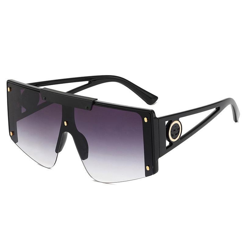 Gafas de sol 2021 Estilo Marca Diseño Plaza Mujeres Hombres Moda Moda Deportes al aire libre Gafas de sol Sombras Gafas