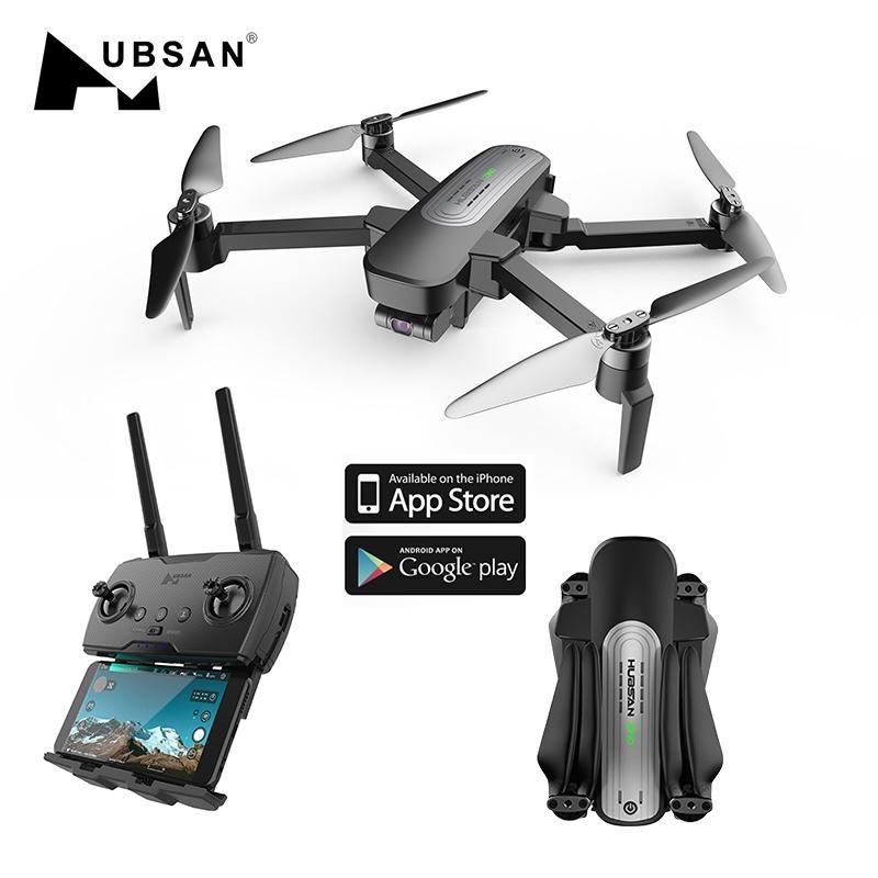 Hipac Hubsan H117S Zino GPS Drone avec 4K Caméra 5.8G 1KM 3 Axis Gimbal Télécommande Drone Quadcopter Dron Brushless RTF