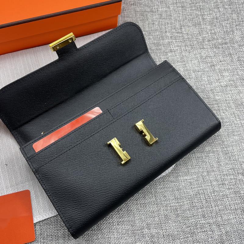Moda hombres mujeres billeteras diseñadores bolsos bolsos de cuero genuino bolsos de bolos de bolsos Hardware 12 cartas Posición con caja