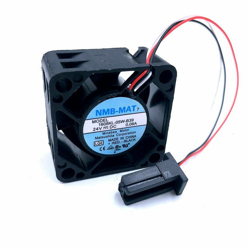 For NMB 1608KL-05W-B39 4020 24V 0.08A waterproof radiator fan