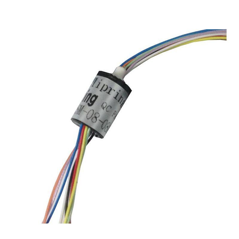 짐벌 슬립 링 8 채널 DIA. 8.5mm FPV 짐벌 핸드 헬드 안정제 용 미니 사이즈 슬립 링 전기 슬립 링