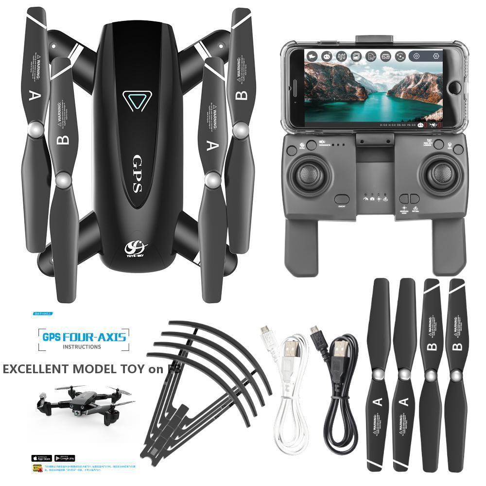 S167 4K HD-Kamera 5G-WiFi FPV-Drohne, GPS-Standort, Surround-Flug, Follow-Mele-Modus, Außer der Steuerung Auto-Return, machen Sie Foto von Gesture, verwenden