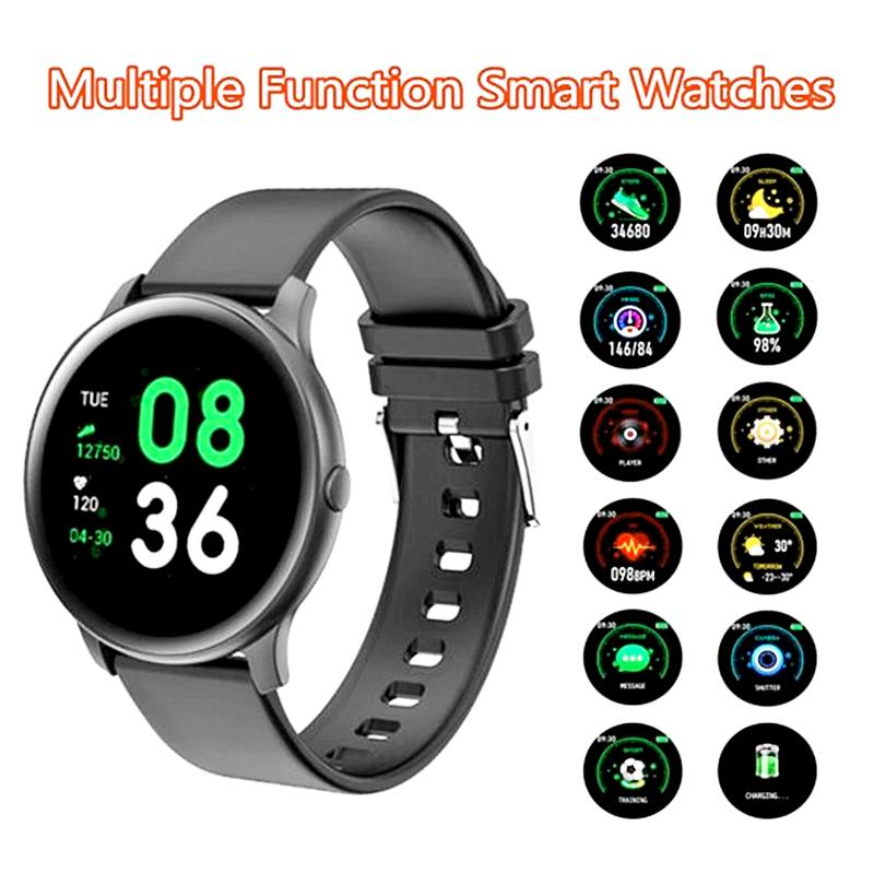 KW19 Smart Watch Men Women Heart Rate Monitor Message Reminder Fitness Tracker Sport Smartwatch For IOS Android IP67 Waterproof 1pcs/lot
