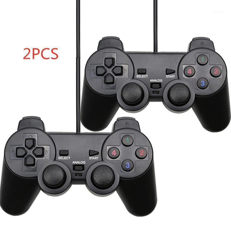USB Wired PC Game Controller Gamepad Vibration Joystick Game Pad Joypad Control for PC Computer Laptop Gaming Play1