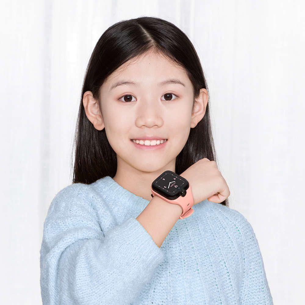 Проса кролика детские телефонные часы 4 новая водонепроницаемая интеллектуальная позиционирование многофункциональная двойная кулачка