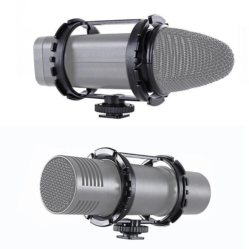 BY-C03 профессиональный микрофон крепление для BY-VM300PS BY-V02 40mm-48mm Микрофон на DSLR камеры видеокамеры Увеличить H1 холодной обуви