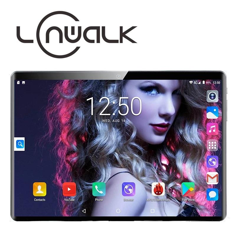 Android 9.0 Quad Core 10 inch Tablet PC 2GB RAM 64GB ROM 5MP WIFI A-GPS 4G LTE 2.5D Tempered Glass IPS 1280*800