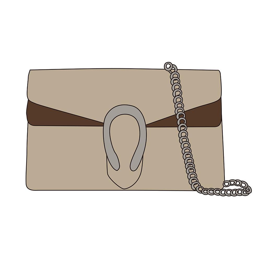 Snake Vintage Cuero marrón mujer Hombro Crossbody Bolsos 2020 Nuevo Diseñador de moda Cadena Bolsa de hombro Bolso de mujer