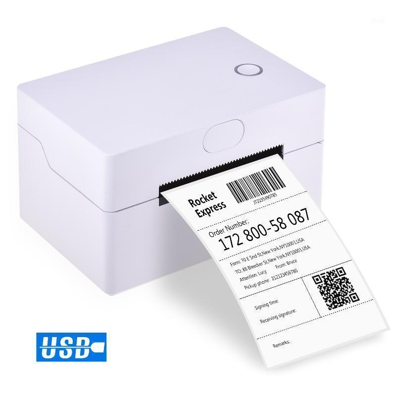 سطح المكتب 180MM / S عالية السرعة USB الطابعة الحرارية تسمية صانع ملصقا max.83mm ورقة عرض للتعبير