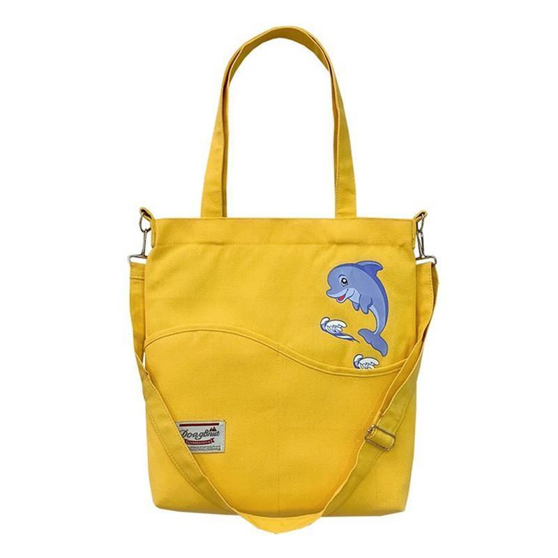 Mulheres 2020 Bolsas Grandes Bolsas De Lona Tote Saco Feminino Moda Ombro Marca Bolsas De Designer Senhora Senhora Boa Viagem Sacos IJFWS
