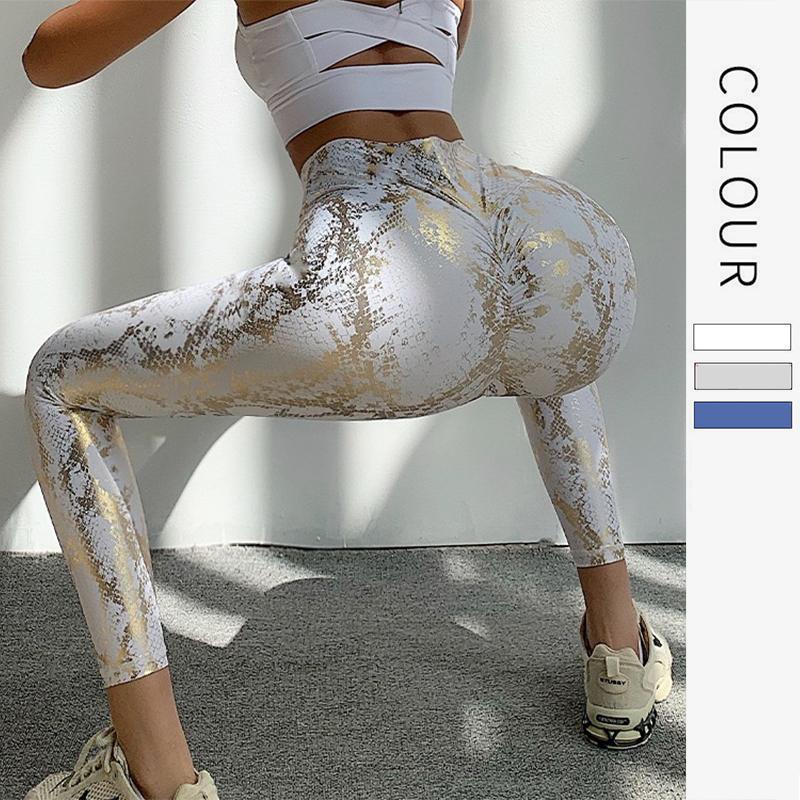 Ke Leggings sertkin motif peach hanche fitness pantalon taille haute taille sexy stretch yoga pantalon automne x1227