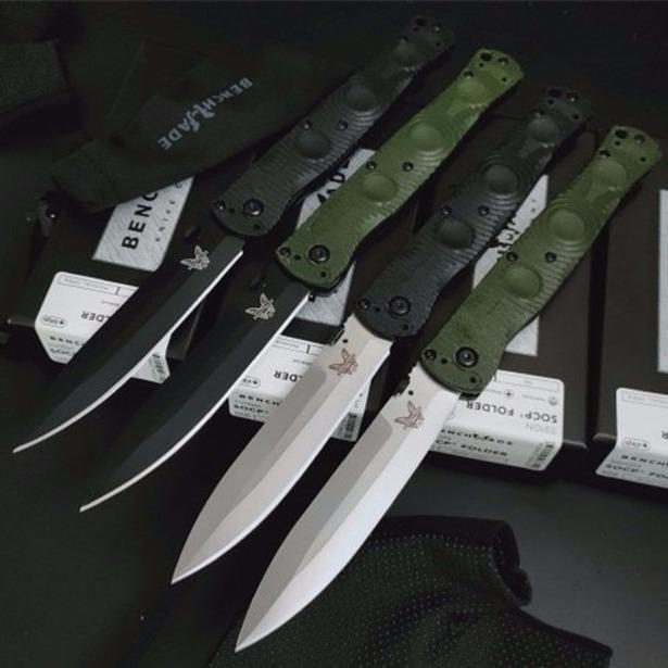 Benchmade 391 bm391 D2 tático autodefesa caça dobrar EDC bolso faca de acampamento faca presente facas xmas a3147 BMF
