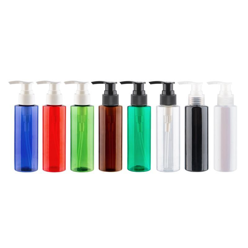 120ml X 40 Empty Liquid Soap Pump Plastic Cosmetic Lotion Bottles PET Shampoo Container with Lotion Pump 4oz Shampoo Bottle