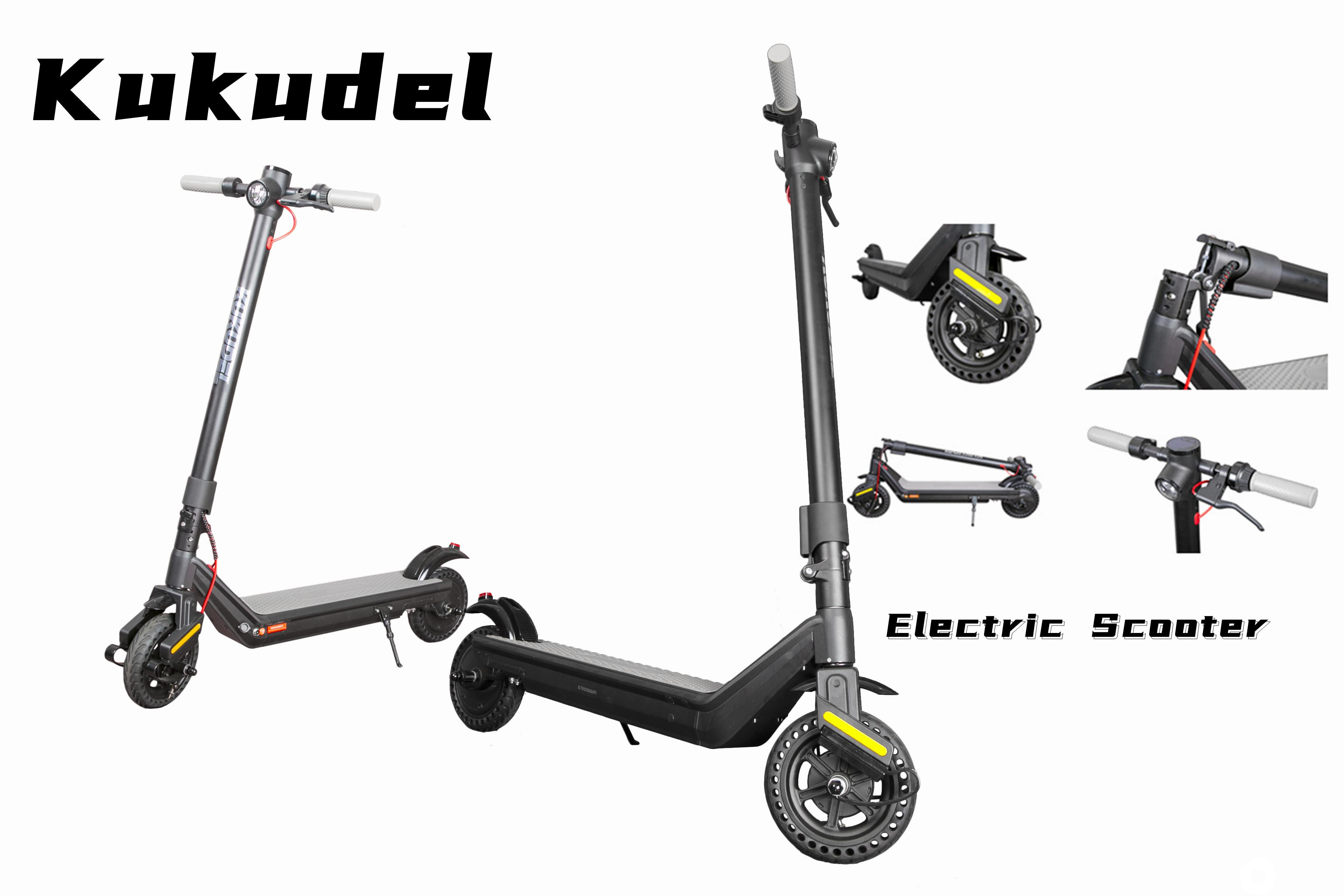 Portable Scooter for Commuting 856p 7.5Ah Patented shock absorption Two Wheel Stand Kick Scooter Electric Adult Scooter
