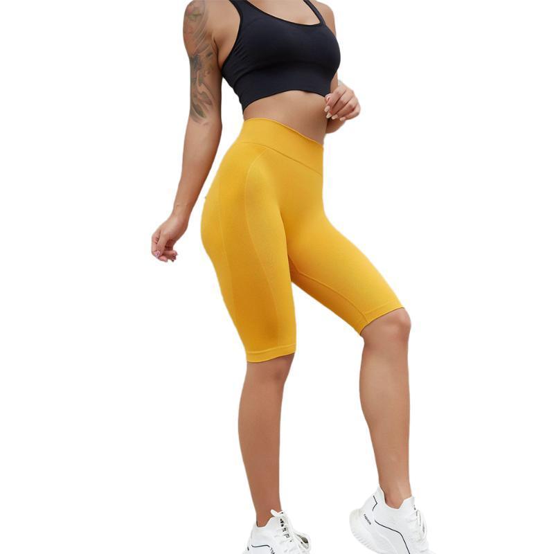 Tights Sports Leggins Fitness Gym Lycra Sporty legging Woman Capris Yoga jogging 3/4 sweatpants women Elasticized waistband pant