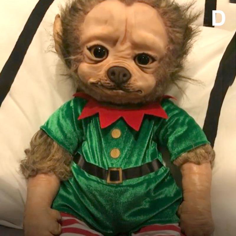 Neue Reborn-Baby Grinch Spielzeug Realistische Karikatur-Puppe Weihnachten Simualtion Puppe Kinder Weihnachtsgeschenke Drop Shipping MJJ88