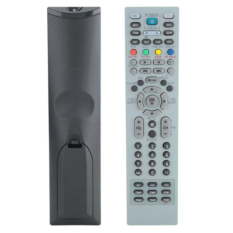 Fernbedienung TV-Steuerung Ersetzen Service HD Smart Player Universal für LCD MKJ39170828 grau