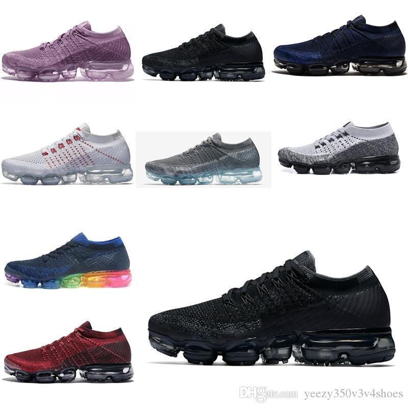 vapormax 2018 Chaussures Hommes être vrai choc pour la mode Qualité Femmes Hommes Chaussures Casual EUR 36-45 Dh-5408484