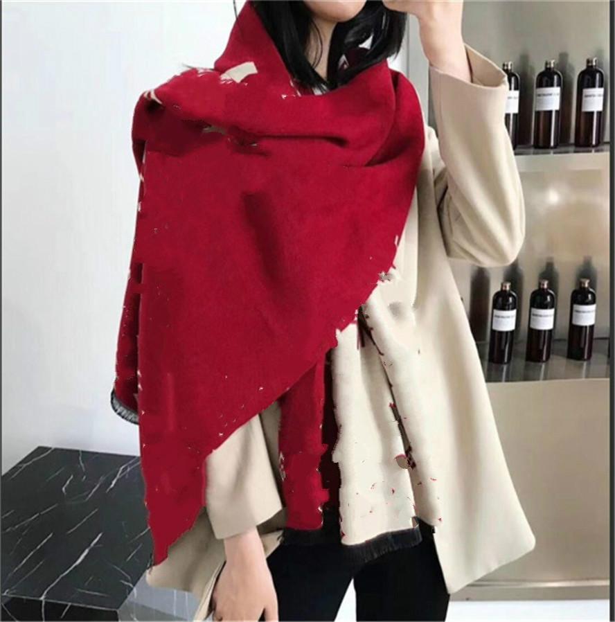 2021 جديد الأعلى مصمم المرأة وشاح الكشمير والأوشحة الطويلة الكلاسيكية الأزهار الطباعة مصمم المرأة والأوشحة الحجم 180x65 سنتيمتر